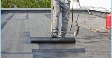 How to cover the roof with roofing material