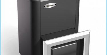 Gas stove for baths