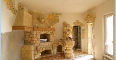 Stone oven for baths and houses
