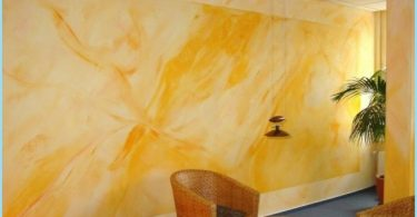 Silicate paint for interior and exterior use: the composition, flow rate of 1 m2