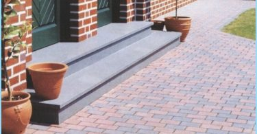 How to make paving stones with their hands