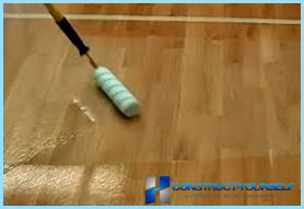 Parquet lacquer fast drying, water-based