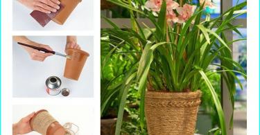 Decorative vases site design: composition + workshops