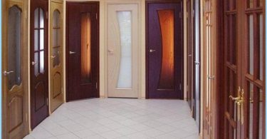 How to build the interior doors