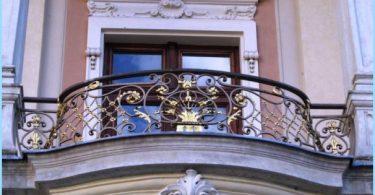 Wrought balconies