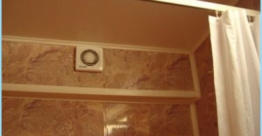How to install the hood in the bathroom, wiring diagram
