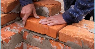 How to mix the solution for masonry bricks
